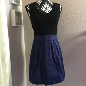 THEORY Dristi Colorblock Mixed Media Tank Dress 6